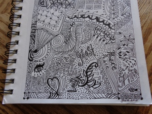 zentangles and MO and misc 034