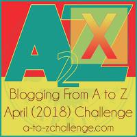 AtoZChallenge 2018 X